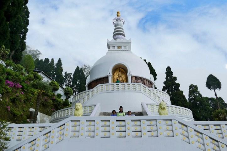 Japanese Peace Pagoda, Darjeeling