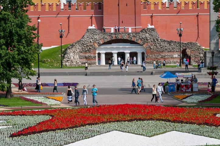 Alexander Gardens, Moscow