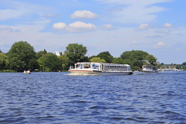 Alster Lake, Hamburg