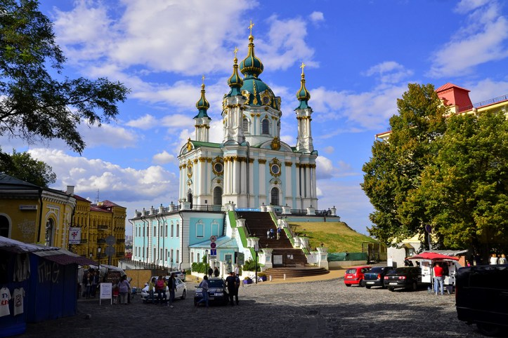 St.Andrew's Church, Kyiv