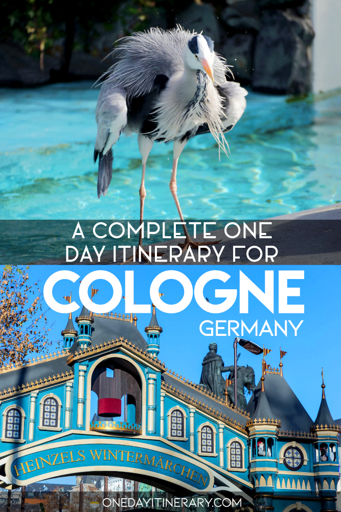 A complete one day itinerary for Cologne, Germany