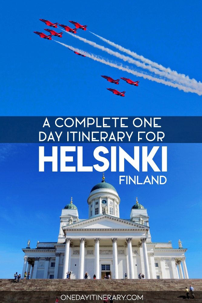 A complete one day itinerary for Helsinki, Finland