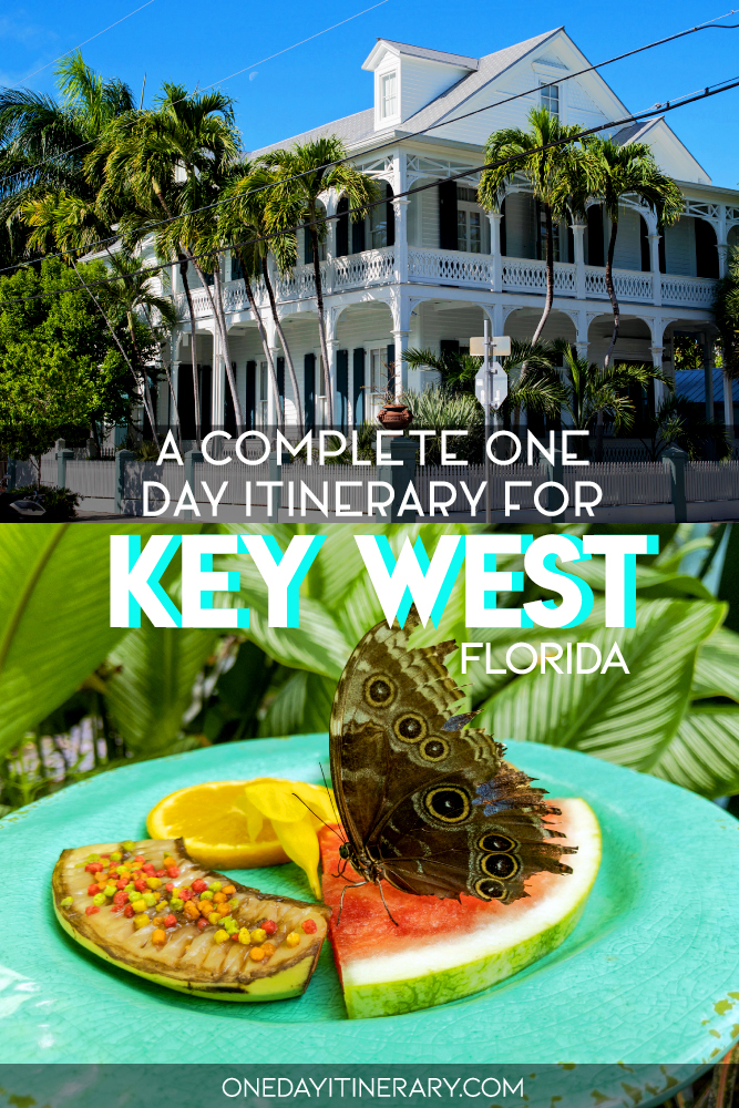 A complete one day itinerary for Key West