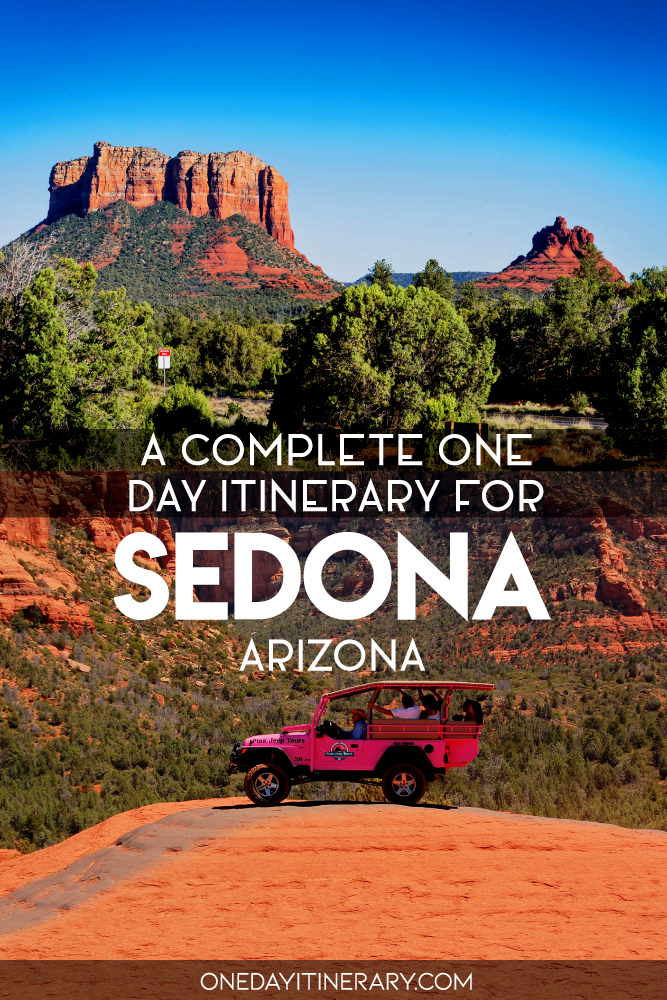 A complete one day itinerary for Sedona, Arizona