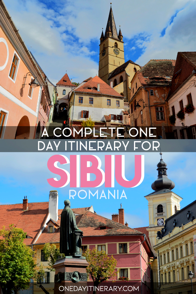 A complete one day itinerary for Sibiu, Romania