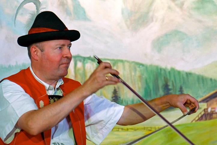 Austrian folk performance, Innsbruck
