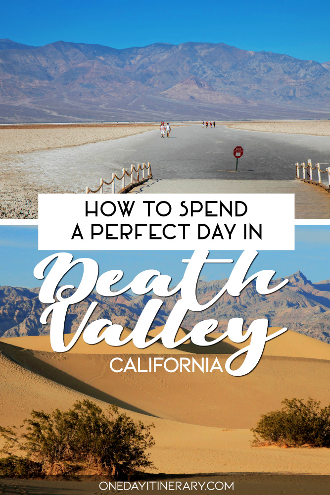 How to spend a perfect day in Death Valley, California