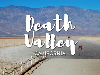 One day in Death Valley Itinerary