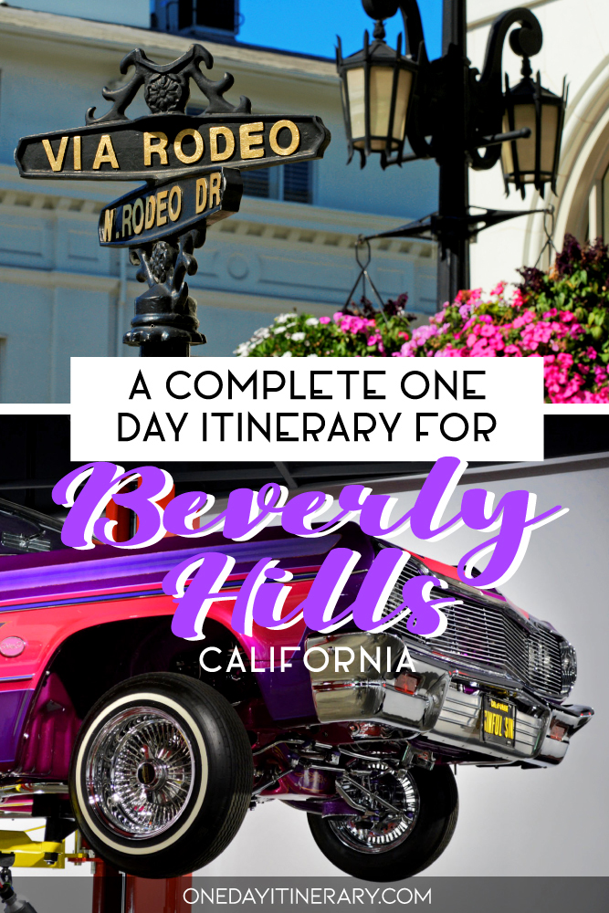 A complete one day itinerary for Beverly Hills, California