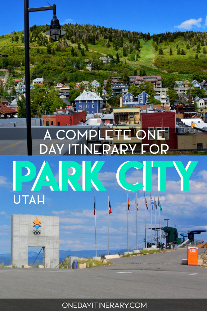 A complete one day itinerary for Park City, Utah