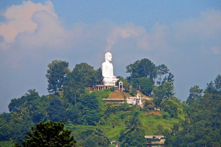 Giant Buddha statue, Kandy