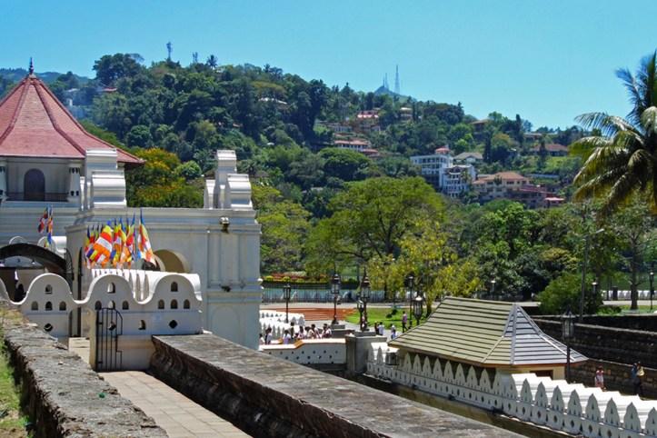 Palace grounds, Kandy