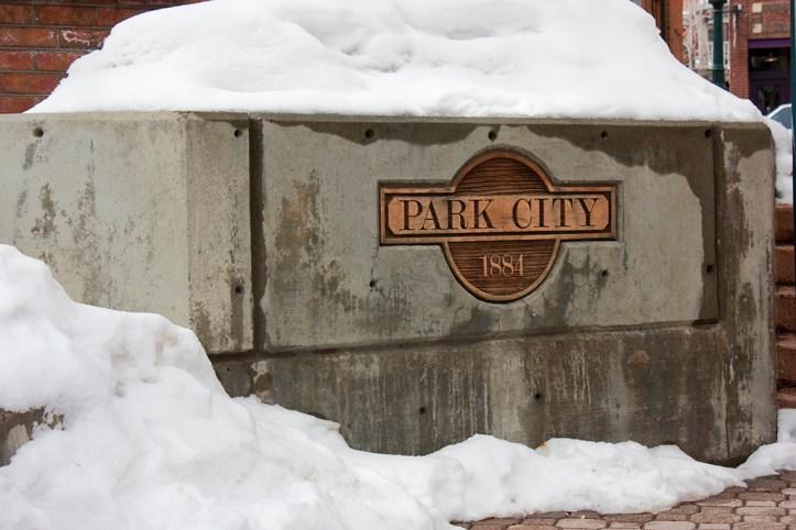 Park City in Winte
