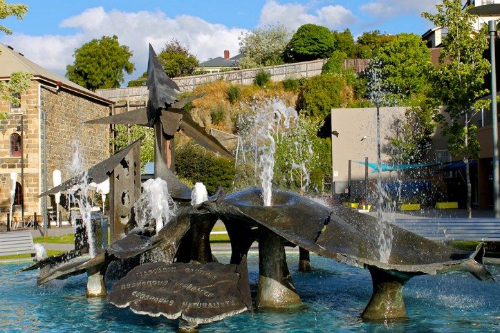 Salamanca Square, Battery Point, Hobart
