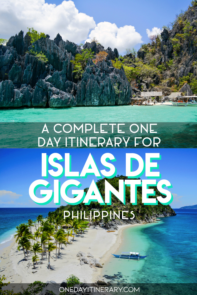 A complete one day itinerary for Islas de Gigantes, Philippines