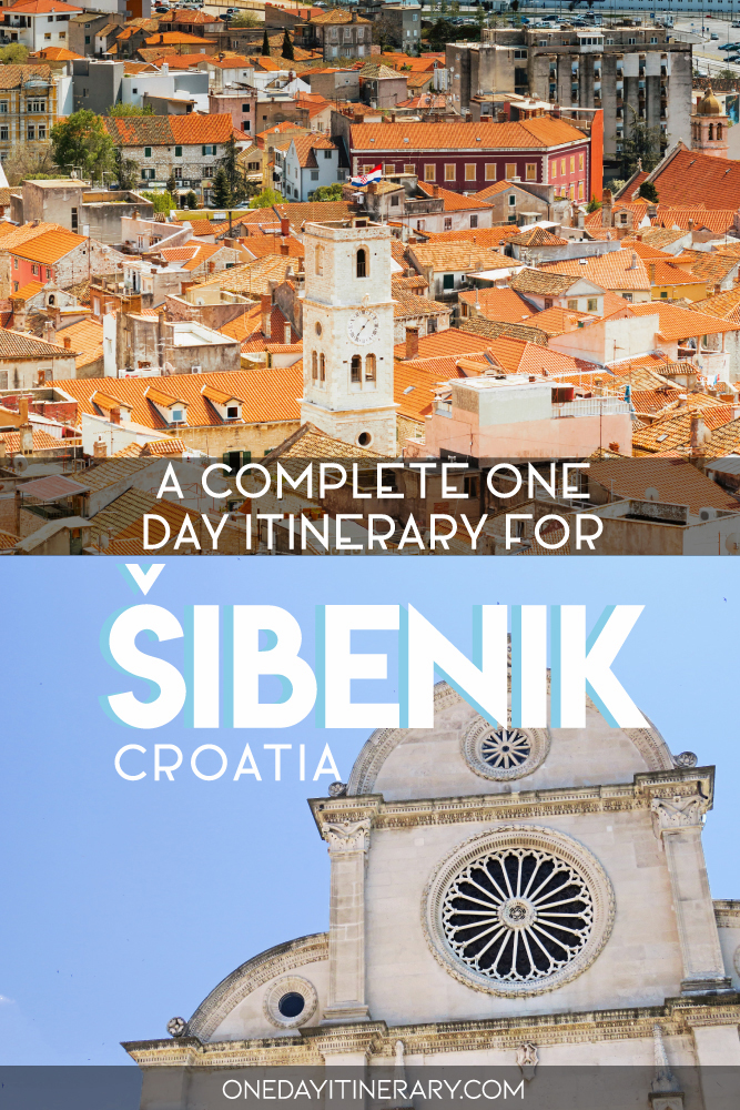 A complete one day itinerary for Sibenik, Croatia