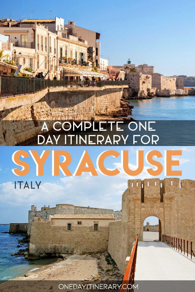 A complete one day itinerary for Syracuse, Italy