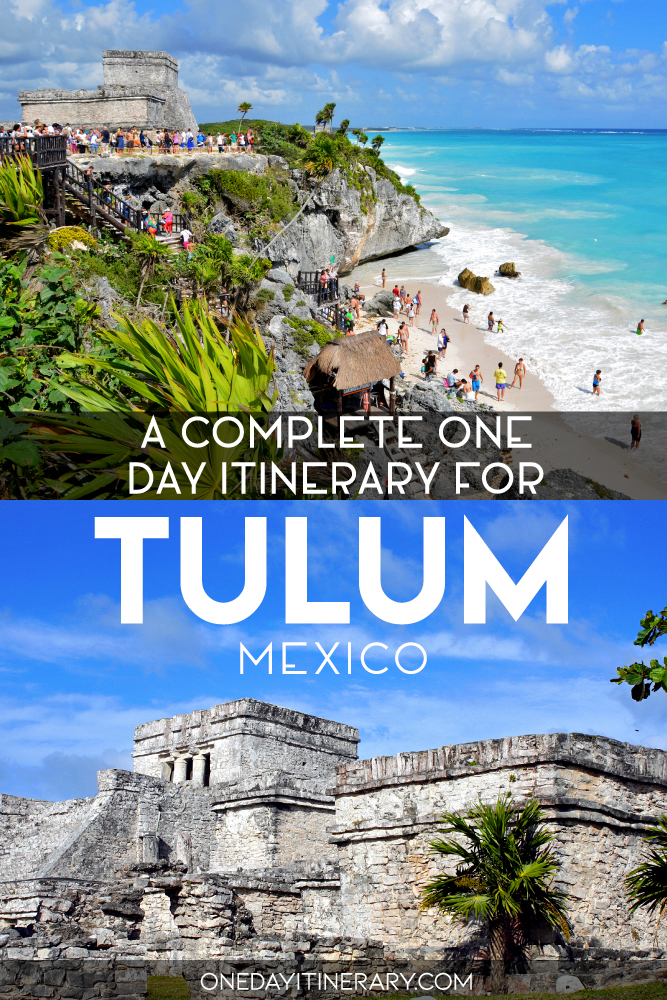 A complete one day itinerary for Tulum, Mexico
