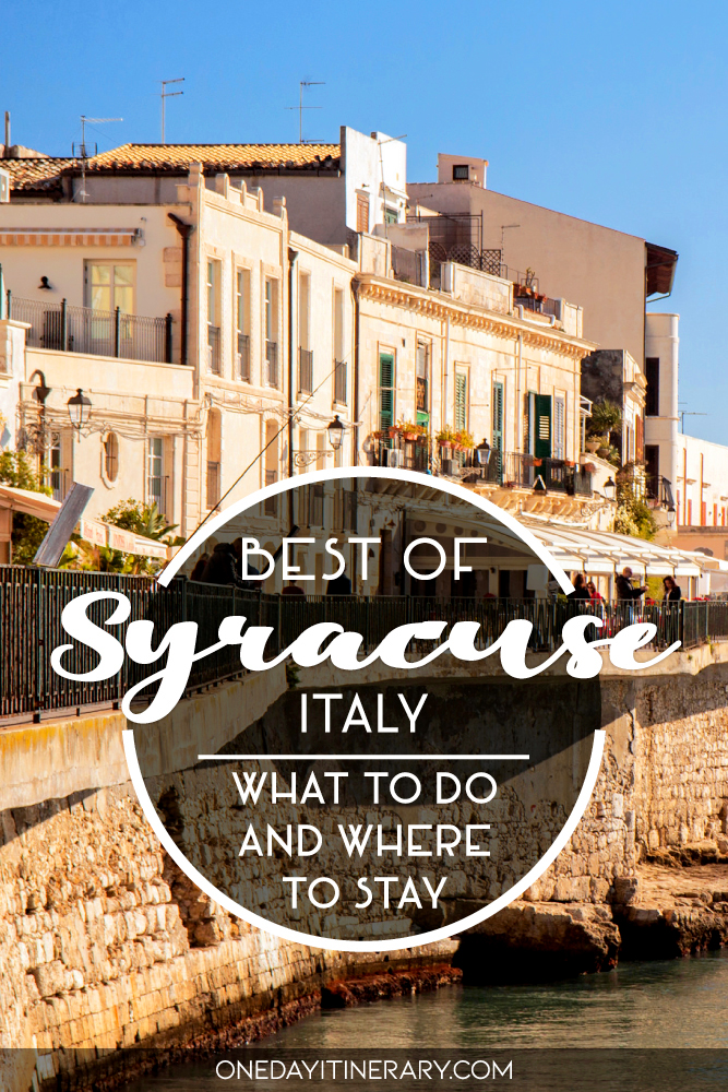 Best of Syracuse, Italy - What to do and where to stay