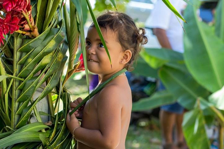 Locals in Tahiti