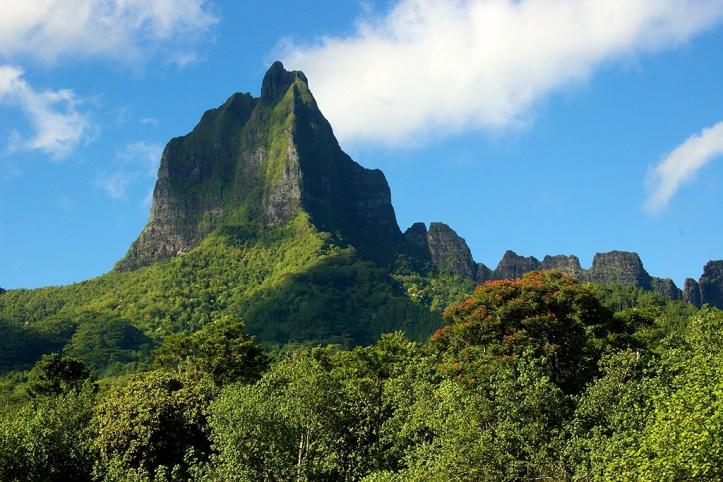Moorea Peak, Tahiti