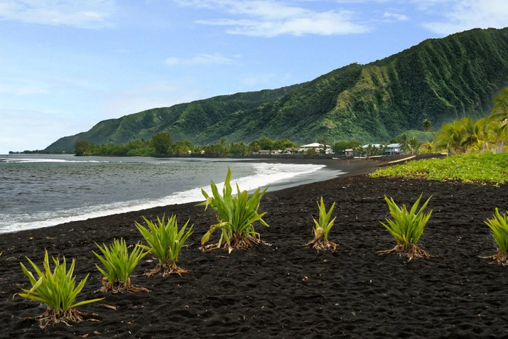 Taharuu Beach, Tahiti