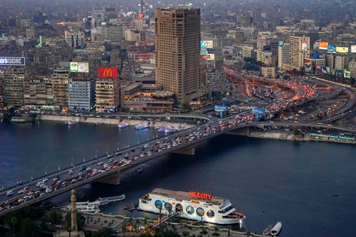 Cairo in the evening