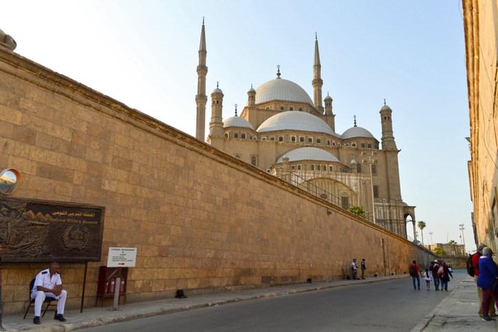 Inside the Cairo Citadel