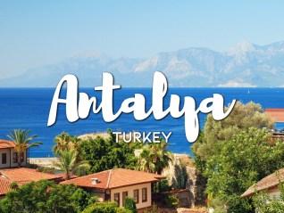 One day in Antalya Itinerary