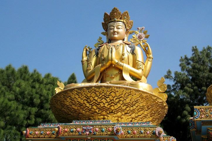 Swyambhunath Temple Buddhas, Kathmandu