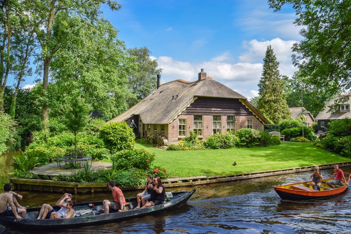 Boat tour, Giethoorn