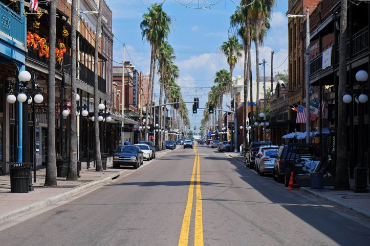 Streets of Tampa