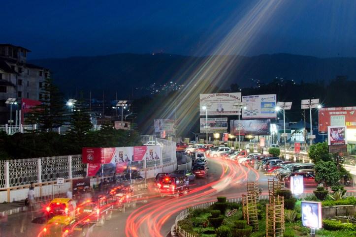 Shillong at Night