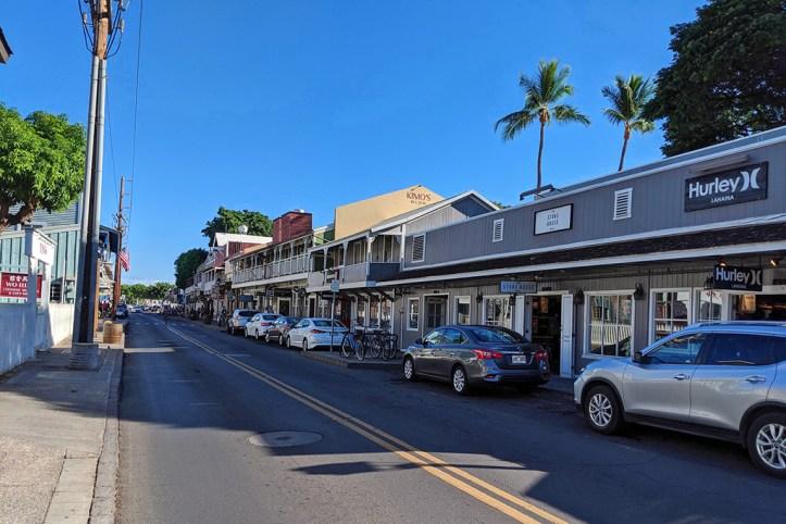 Front Street, Lahaina