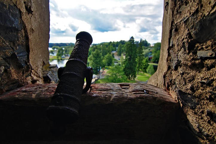 Inside Olavinlinna Castle, Savonlinna