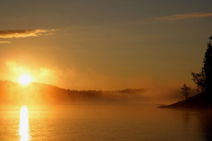 Lake Saimaa Sunset, Savonlinna