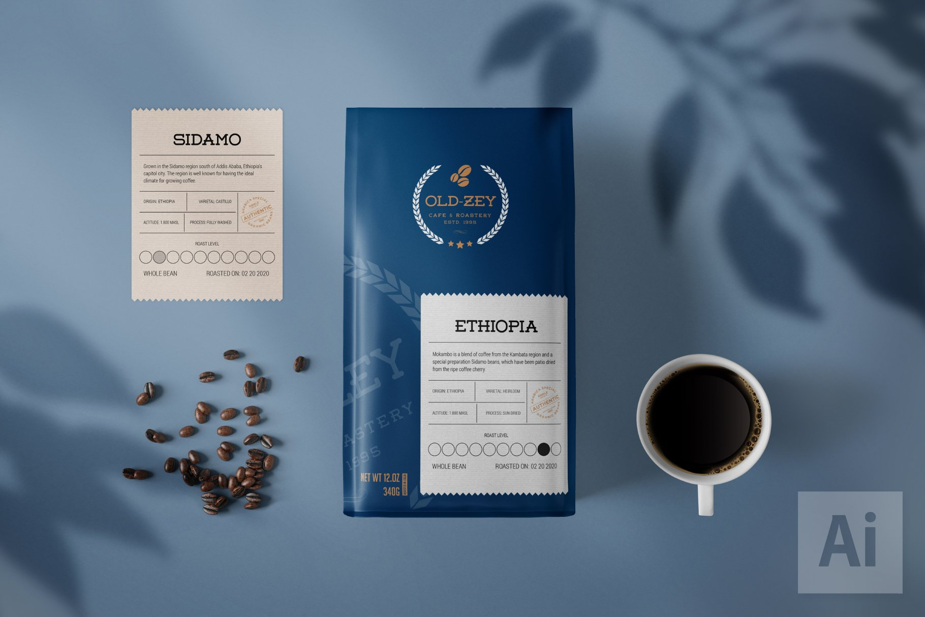 This package mockup perfect fit for below type of designs or branding purpose: 42 Best Coffee Bag Mockups Both Free Premium Onedesblog