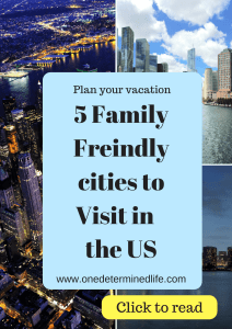 5 cities in the US that are great for a family to visit, fit your personality with the city you visit, each city has something different to offer