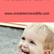 7 common problems toddlers face