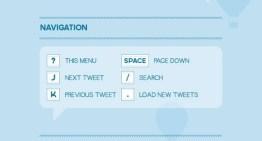 Infografia: Guía de accesos rápidos en Twitter