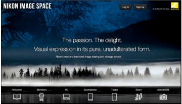 Nikon Image Space: el reemplazo de MyPicturetown