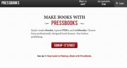 PressBooks: plataforma de código abierto para crear y publicar libros