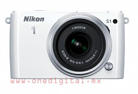Nikon 1 S1 blanca