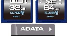 ADATA presenta sus nuevas tarjetas de memoria de la Serie Premier para almacenamiento de alta definición