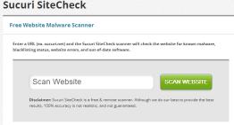 Sucuri SiteCheck: herramienta para verificar si tu sitio esta infectado