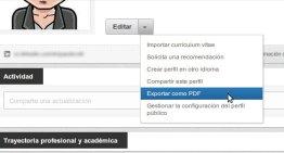 Aplicaciones gratuitas para crear tu currículum en línea y posteriormente descargarlo en PDF
