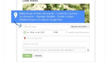 Infografía: Aprovecha al máximo la función Eventos de Google+