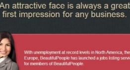 """Beautiful People añade sección para ofrecer empleo solo a """"gente bonita"""""""