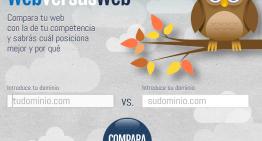 WebVersusWeb: herramienta de comparación de sitios web