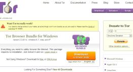 Tor Browser Bundle: navega a través de la Web de forma anónima